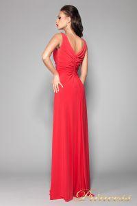 Вечернее платье 10058R. Цвет красный. Вид 2