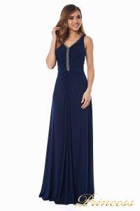 Вечернее платье №10058N. Цвет синий. Вид 2