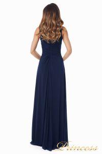 Вечернее платье №10058N. Цвет синий. Вид 5
