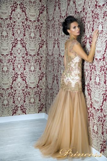 Вечернее платье 1049. Цвет розовый. Вид 2