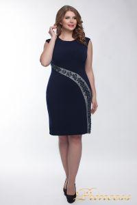 Коктейльное платье  1049_navy. Цвет синий. Вид 1