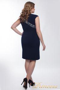 Коктейльное платье  1049_navy. Цвет синий. Вид 3