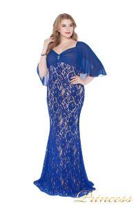 Вечернее платье 1051622 blue. Цвет электрик . Вид 2
