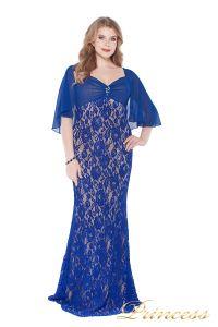 Вечернее платье 1051622 blue. Цвет электрик . Вид 3