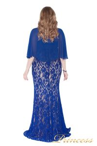 Вечернее платье 1051622 blue. Цвет электрик . Вид 4