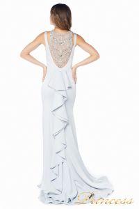 Вечернее платье 1051733 gray. Цвет шампань. Вид 3