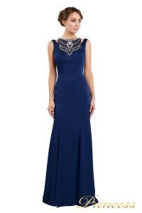 Вечернее платье 1051733 blue. Цвет синий. Вид 2