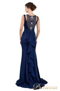 Вечернее платье 1051733 blue. Цвет синий. Вид 1