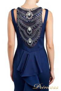 Вечернее платье 1051733 blue. Цвет синий. Вид 3