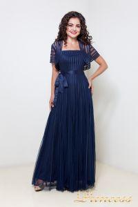 Вечернее платье 1073. Цвет синий. Вид 1