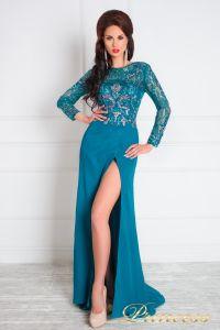 Вечернее платье 1089. Цвет зеленый. Вид 2