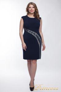 Коктейльное платье  1049_navy. Цвет синий. Вид 4
