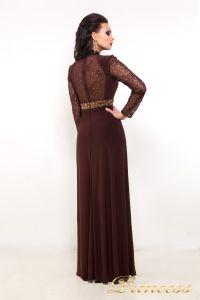Вечернее платье 110913. Цвет коричневый. Вид 2