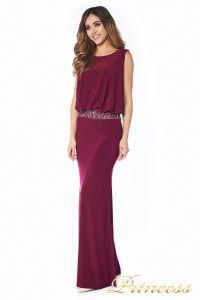 Вечернее платье 1144 Marsala . Цвет красный. Вид 1