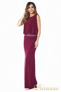Вечернее платье 1144 Marsala . Цвет красный. Вид 6