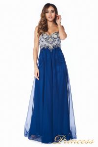 Вечернее платье 12015M. Цвет синий. Вид 5