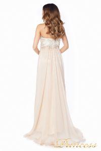 Вечернее платье 12015N. Цвет шампань. Вид 6