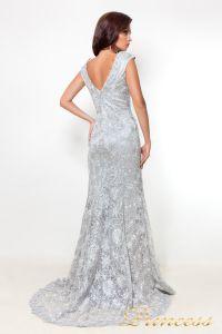 Вечернее платье 12026_silver. Цвет стальной. Вид 2