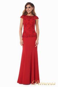 Вечернее платье 12084_red. Цвет красный. Вид 1