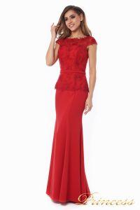 Вечернее платье 12084_red. Цвет красный. Вид 3