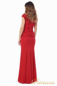 Вечернее платье 12084_red. Цвет красный. Вид 4