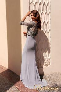 Вечернее платье NF-13044. Цвет серый. Вид 2