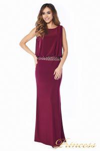 Вечернее платье 1144 Marsala . Цвет красный. Вид 2