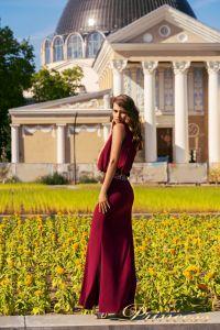 Вечернее платье NF-1144-marsala. Цвет marsala. Вид 2