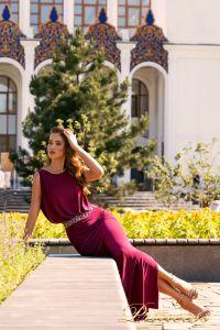 Вечернее платье NF-1144-marsala. Цвет marsala. Вид 4