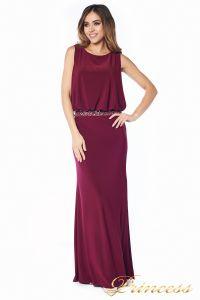Вечернее платье 1144 Marsala . Цвет красный. Вид 3