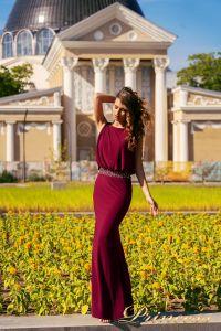 Вечернее платье NF-1144-marsala. Цвет marsala. Вид 1