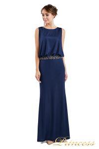 Вечернее платье 1144 Starry night. Цвет navy. Вид 2