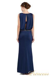 Вечернее платье 1144 Starry night. Цвет navy. Вид 3