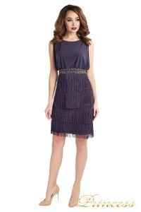 Вечернее платье 1147 gray. Цвет серый. Вид 2