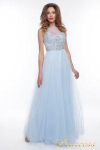 Вечернее платье 150190_blue. Цвет голубой. Вид 4