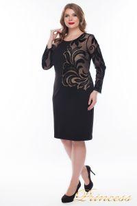 Вечернее платье 1157_black. Цвет чёрный. Вид 1