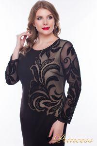 Вечернее платье 1157_black. Цвет чёрный. Вид 2