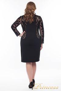 Вечернее платье 1157_black. Цвет чёрный. Вид 3