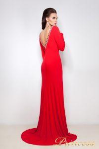 Вечернее платье 12003. Цвет красный. Вид 2