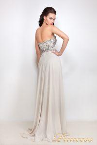 Вечернее платье 12004. Цвет серый. Вид 3