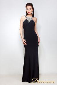 Вечернее платье 12005. Цвет чёрный. Вид 1