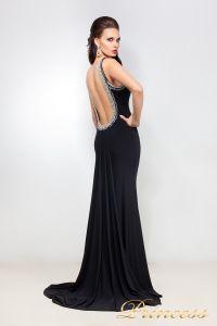Вечернее платье 12005. Цвет чёрный. Вид 2