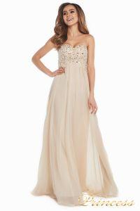 Вечернее платье 12007. Цвет золото. Вид 2