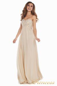 Вечернее платье 12007. Цвет золото. Вид 4