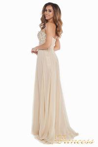 Вечернее платье 12007. Цвет золото. Вид 5