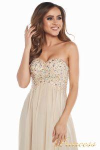 Вечернее платье 12007. Цвет золото. Вид 6