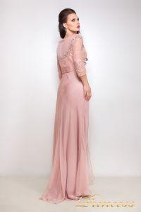 Вечернее платье 12008. Цвет розовый. Вид 2