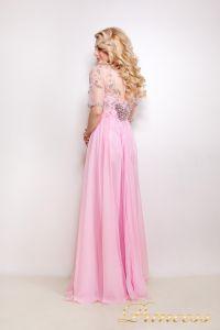 Вечернее платье 12009. Цвет розовый. Вид 2