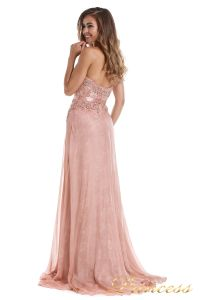 Вечернее платье 12012. Цвет розовый. Вид 4