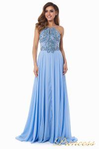 Вечернее платье 12014B. Цвет голубой. Вид 2